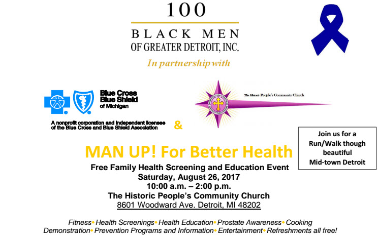 2017 Man Up Health Fair